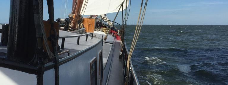 Onze jaarlijkse zeemijlen door heerlijk te zeilen
