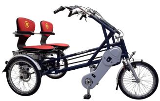 Klein fortuin vergaren om voor een duo-fiets te sparen!