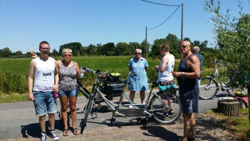 8 juli 2018: Rabobank fietstocht 2018