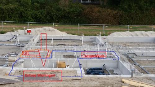 30-07-2018 Entree, trappenhuis & lift