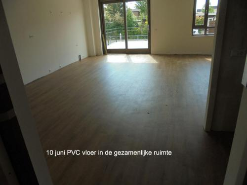 10 juni 2019: PVC vloer in de gezamenlijke ruimte
